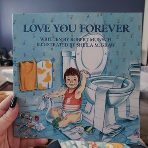 Love You Forever paperback books (2)